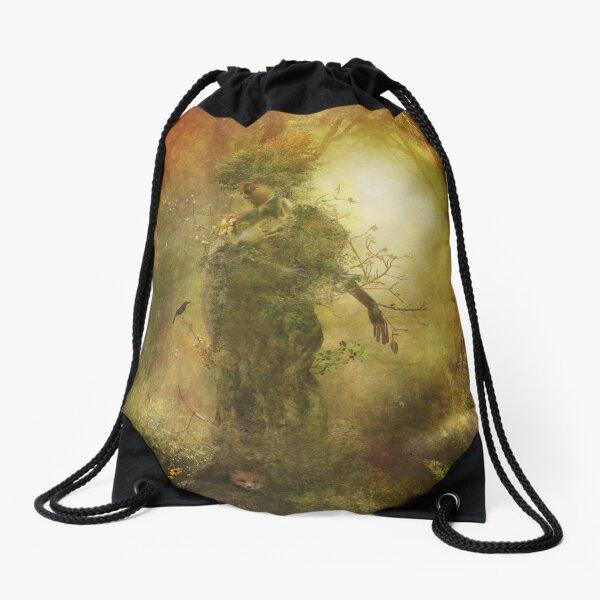 Mother Earth Drawstring Bag