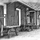 Train Station Platform by KirtTisdale