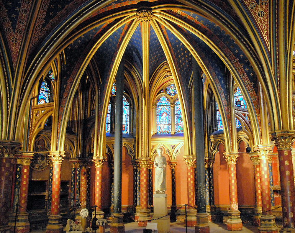 Quot La Sainte Chapelle Paris Quot By Johannes Huntjens Redbubble