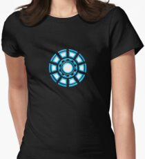 Arc Reactor, Comic, Hero, Superheroes,  Women's Fitted T-Shirt