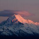 Mt Cook, South Island,New Zealand. by Michael Treloar