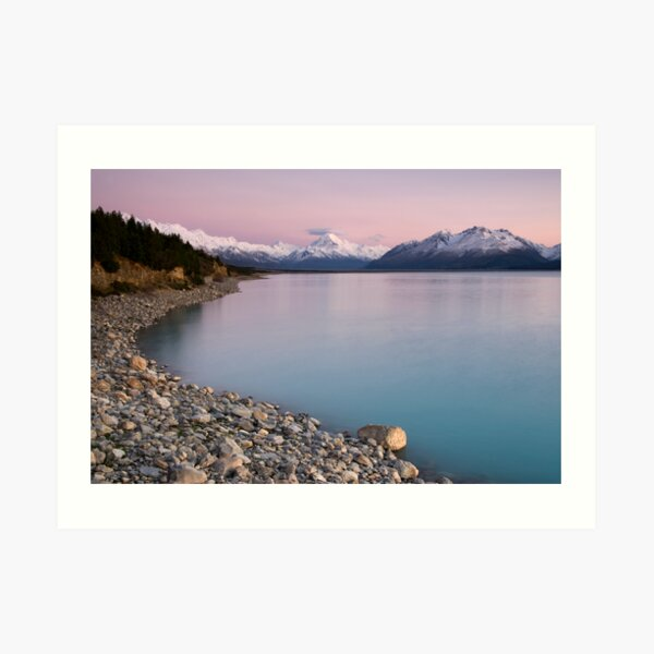 Mt Cook, Sunrise. Art Print