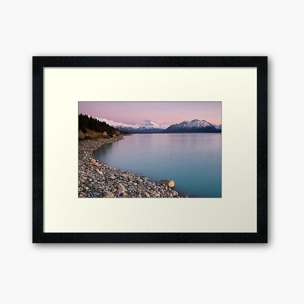 Mt Cook, Sunrise. Framed Art Print