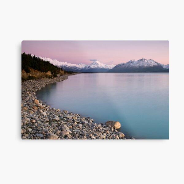 Mt Cook, Sunrise. Metal Print