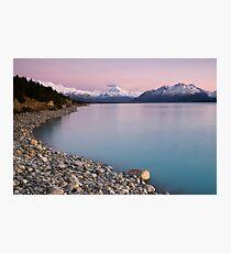 Mt Cook, Sunrise. Photographic Print