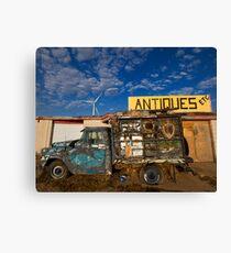Antique truck Canvas Print