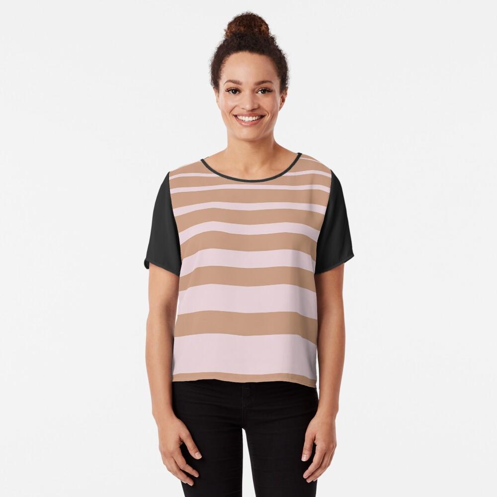 Stripes Chiffon Top