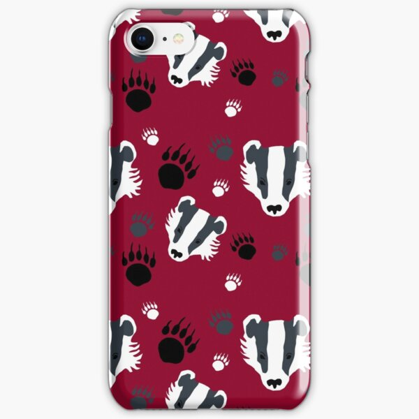 Badger prints iPhone Snap Case
