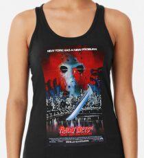 Camiseta de tirantes para mujer Viernes 13: Parte VIII: Jason toma Manhattan