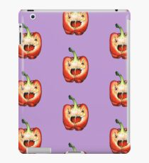 Scary pepper iPad Case/Skin
