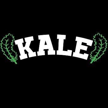 Kale vegan and veggie by Design123