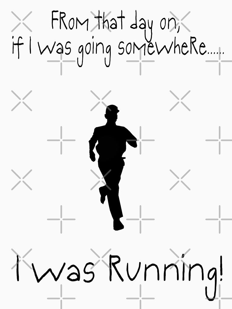 I was RUNNING! | Unisex T-Shirt
