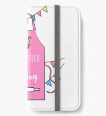 I'd Rather Baking Bake Off Print iPhone Wallet/Case/Skin
