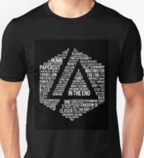 New Art Linkin Park All Name full Album Unisex T-Shirt