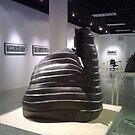 """Gaunlet I""  Sculpture (Full size 21"" H x 47"" R ) by sonia neira-matthews"