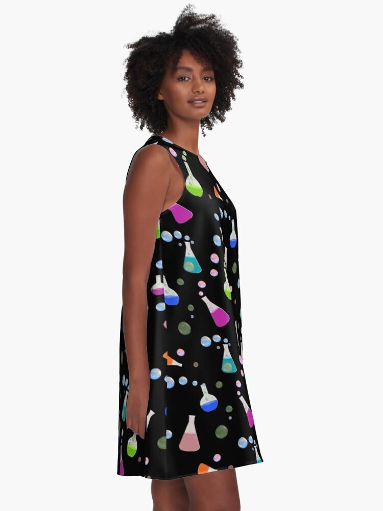 Alternate view of Chemistry A-Line Dress