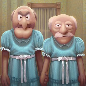 Muppet Maniac - Statler & Waldorf as the Grady Twins by GrimbyBECK