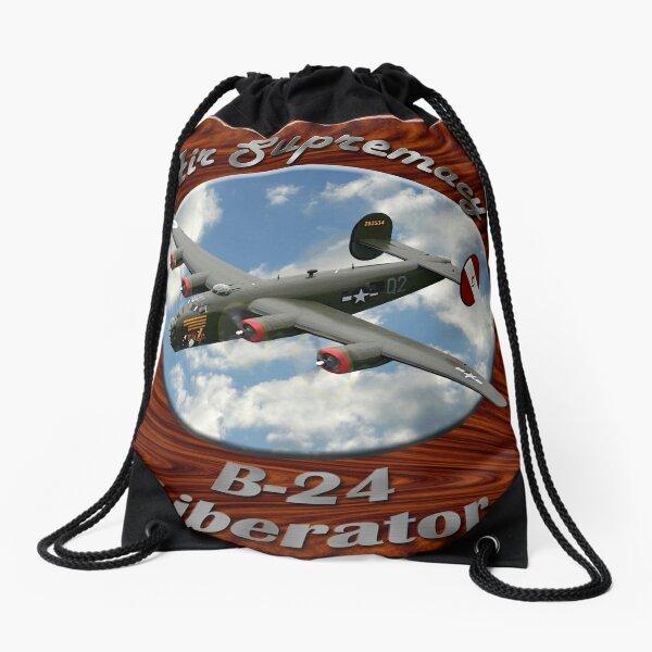 B-24 Liberator Air Supremacy Drawstring Bag