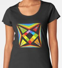 Symmetric 04 Women's Premium T-Shirt