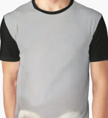 The Peekin' Bun Bun - Needle Felt Art Graphic T-Shirt