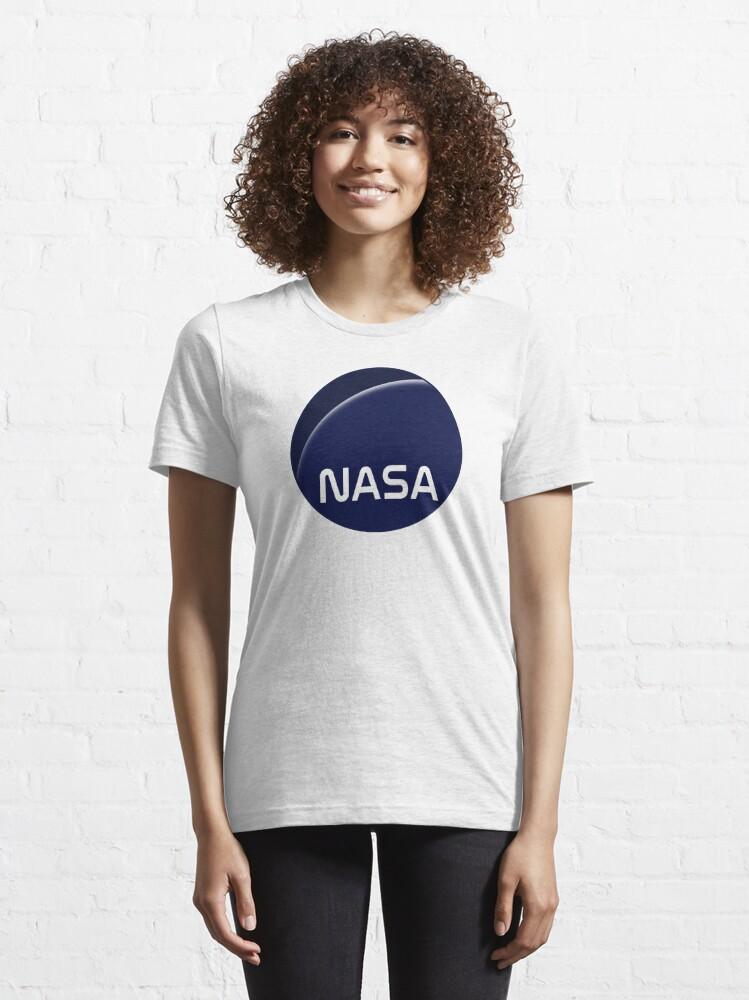 Alternate view of Interstellar movie NASA logo Essential T-Shirt