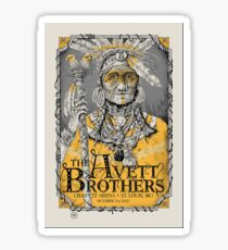 The Avett Brothers Chaifetz Arena, ST Louis Sticker