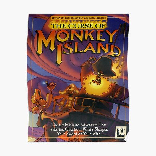 La maldición de Monkey Island Póster