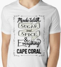 Sugar and Spice Cape Coral Men's V-Neck T-Shirt