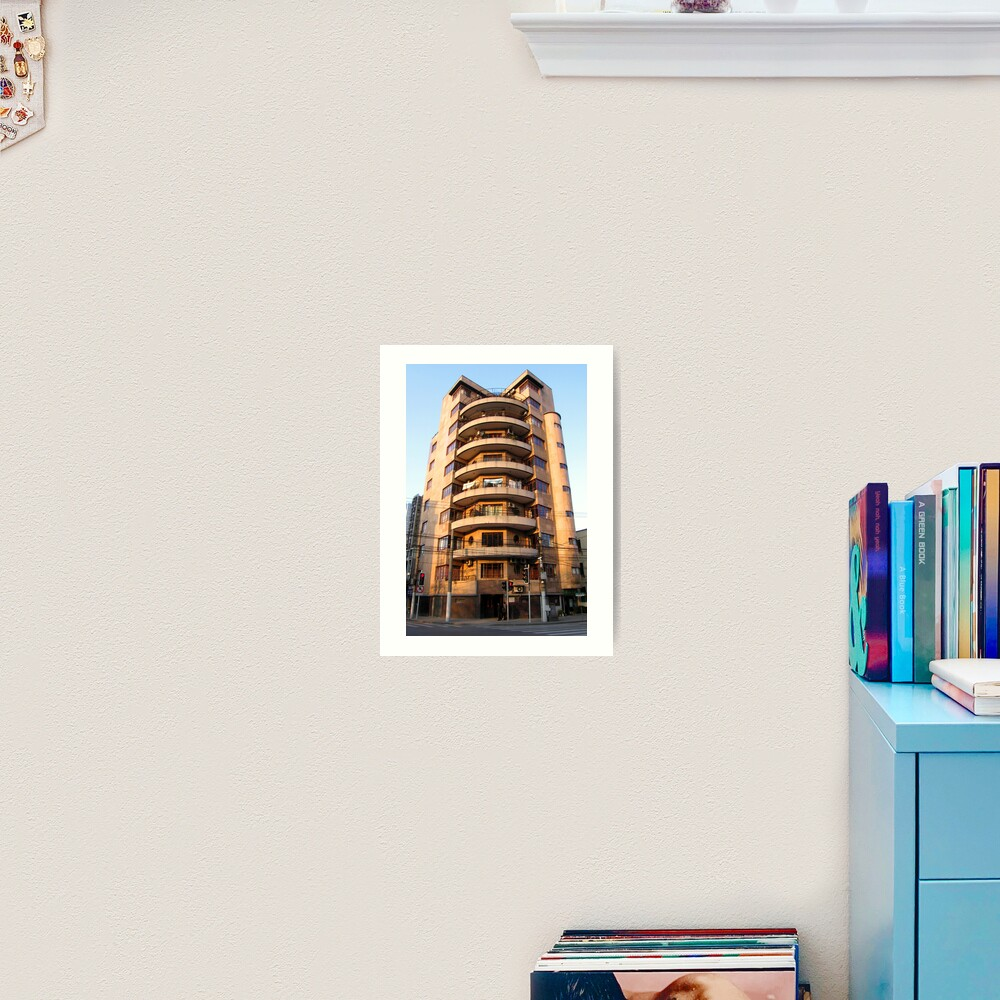 Alfred Magy Apartments - West Fuxing Rd - Shanghai, China Art Print