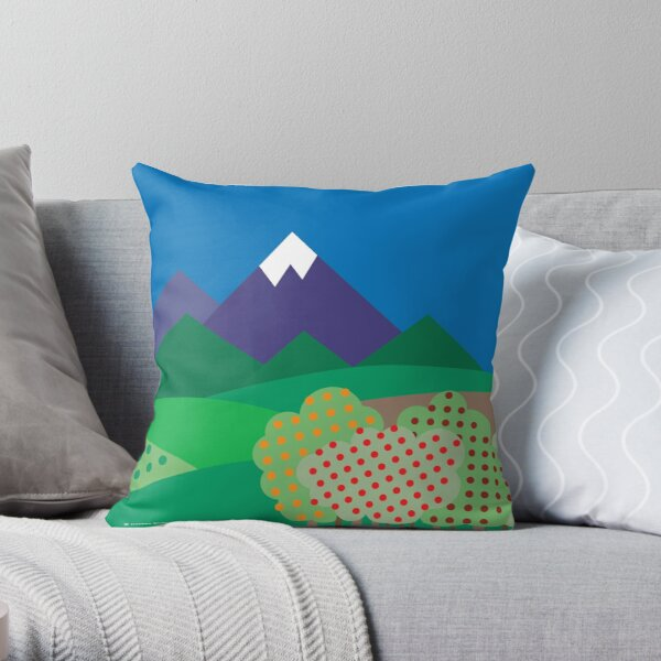 From Sea to Shining Sea #3 Throw Pillow