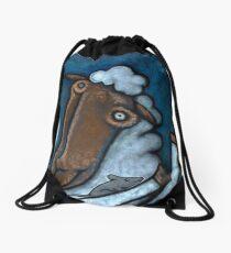 Companionship Drawstring Bag