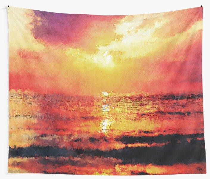 Ocean Sunrise by Phil Perkins