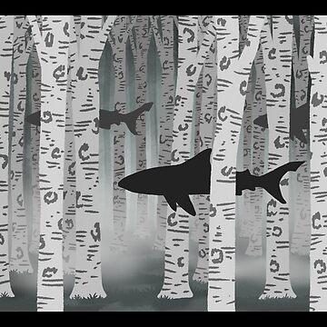 Shark Forest by maretjohnson