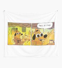 Das ist feine Meme Dog Wandbehang