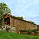 Hunsecker's Mill Covered Bridge by Lanis Rossi