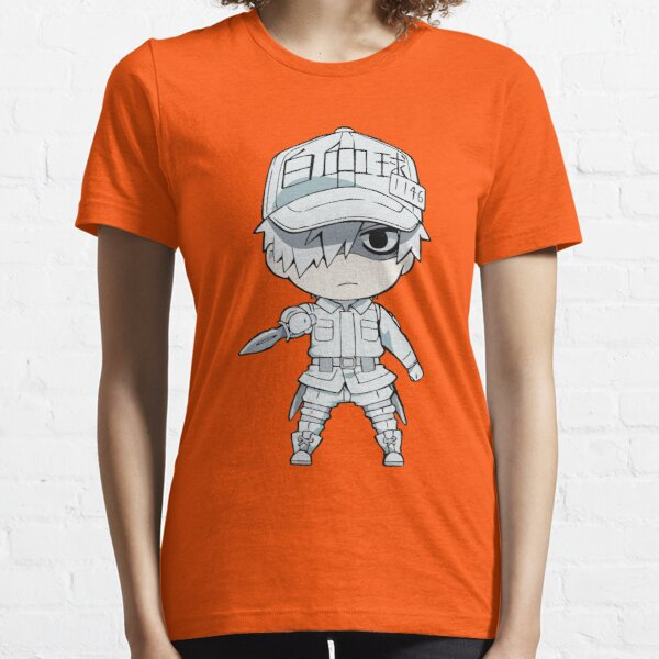 Cells at Work- White Blood Cell Essential T-Shirt