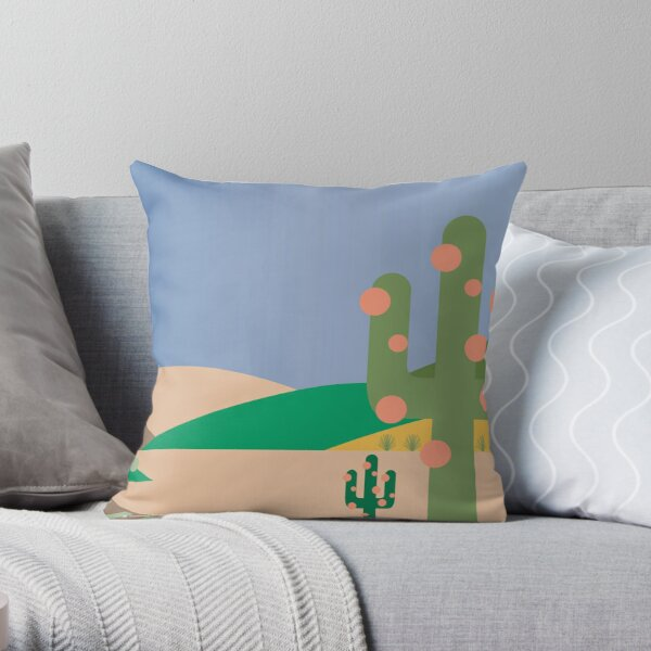 From Sea to Shining Sea #5 Throw Pillow