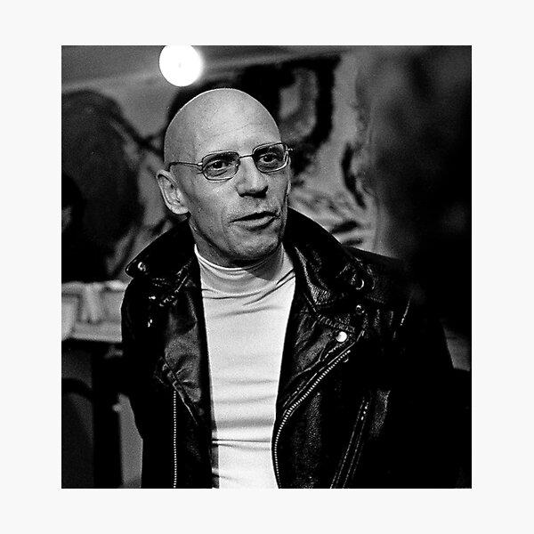 Foucault (Michel) Photographic Print