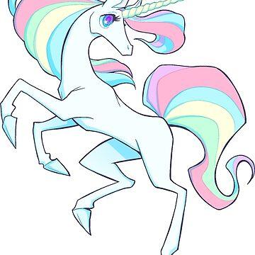 Rainbow Unicorn - Cute D&D Adventures by kickgirl