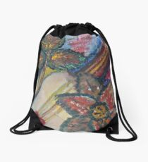 """A Little Sound 3"" by Carter L. Shepard Drawstring Bag"