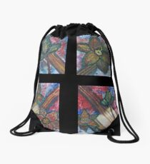 """A Little Sound"" by Carter L. Shepard Drawstring Bag"