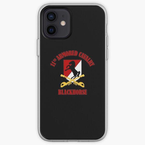 11th Armored Cavalry - Blackhorse iPhone Soft Case