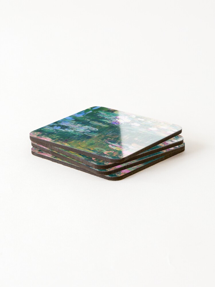Alternate view of Water Lilies monet  Coasters (Set of 4)