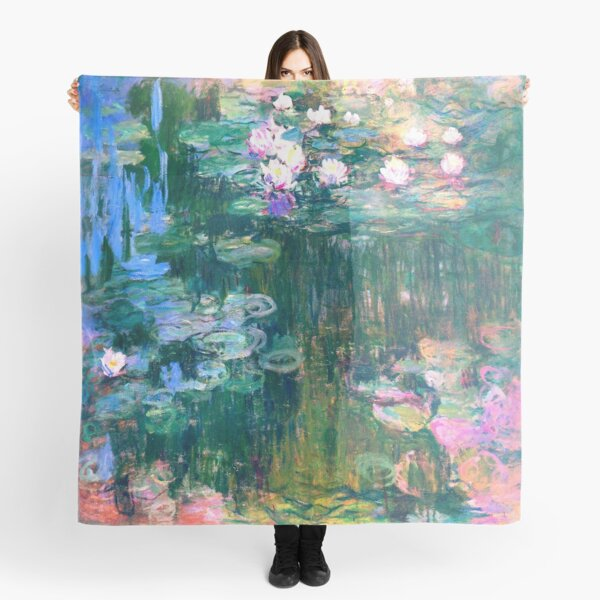 Water Lilies monet  Scarf