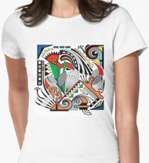 Moment of Indecision  Women's Fitted T-Shirt