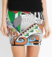 Moment of Indecision  Mini Skirt