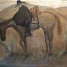 Santa Catalina Mountains, Pack Horse by michael kenny