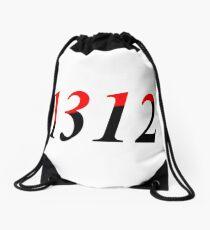 1312 - Libertäre sozialistische Flagge Turnbeutel
