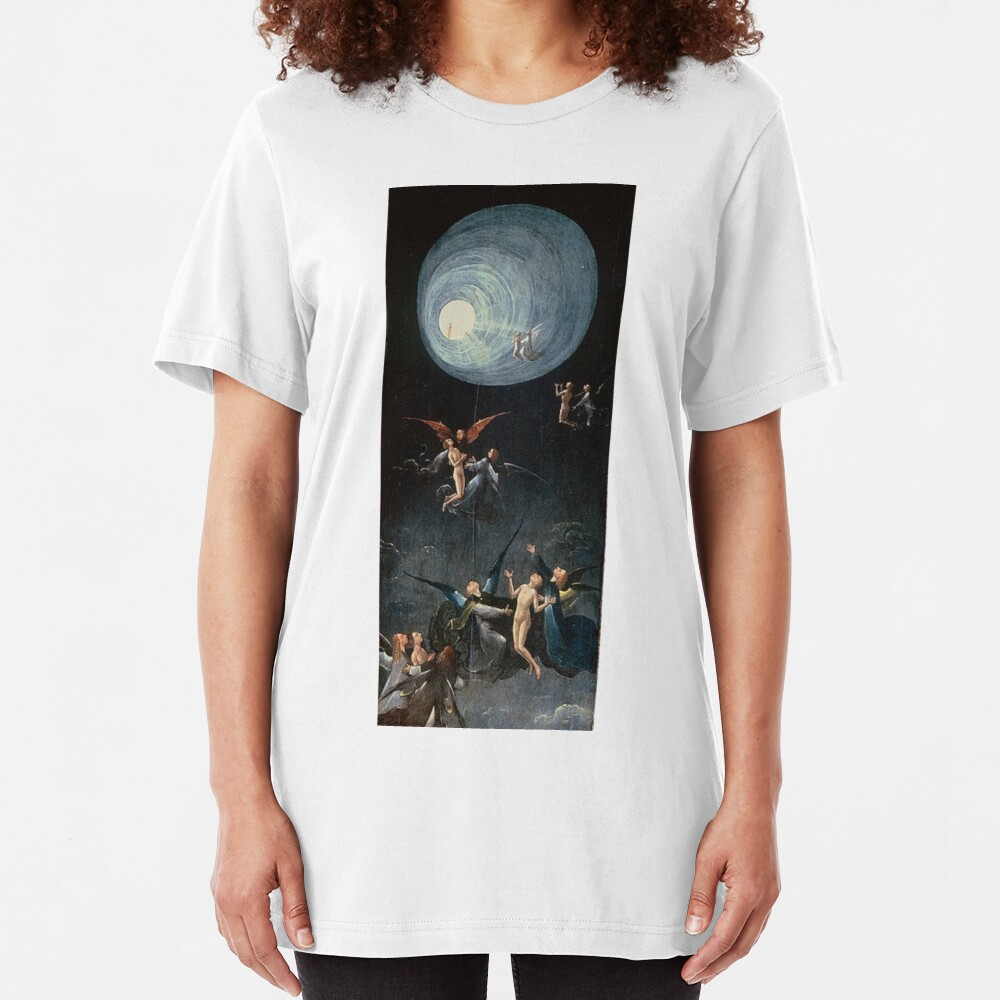 Hieronymus #Bosch #HieronymusBosch #Painting Art Famous Painter   Slim Fit T-Shirt