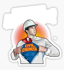 Do not call me architect! Civil Engineer T-Shirt Sticker